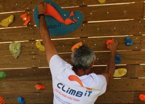 Prise d'escalade CLIMB IT escalade factory. Prise d'escalade personnalisée avec une bonne préhension de type bac