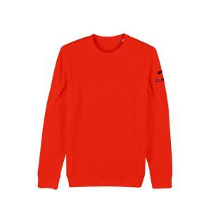 Sweat-shirt-d-escalade-homme-climb-it-escalade-factory-changer-climbit-orange-tangerine-coton organique