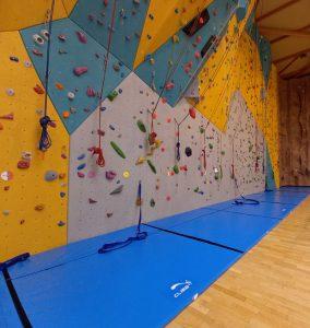 Tapis de réception d'escalade sur mesure par Climb it Escalade Factory